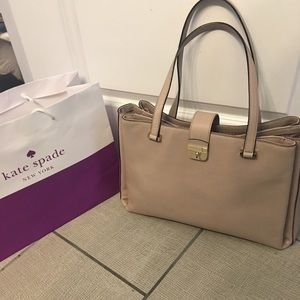 New Kate Spade Large Leather Tote
